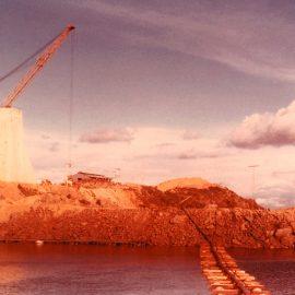 Model: Toyo Pump DP 150 B on Pontoon Application: Desilting of Hydro Electric Dam in Mexico.