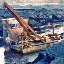Model: DP 50 on Pontoon Application: Coal Separation Plant Customer: Australia