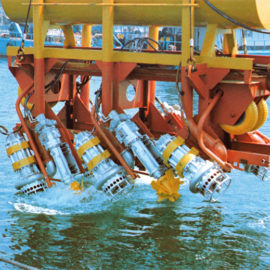 Model: DP 50 & EPK 10 Application: Submarine Oil Pipeline Laying Customer: USA